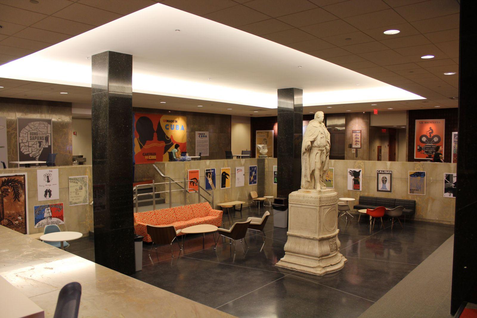 Botetourt Gallery - Swem Library
