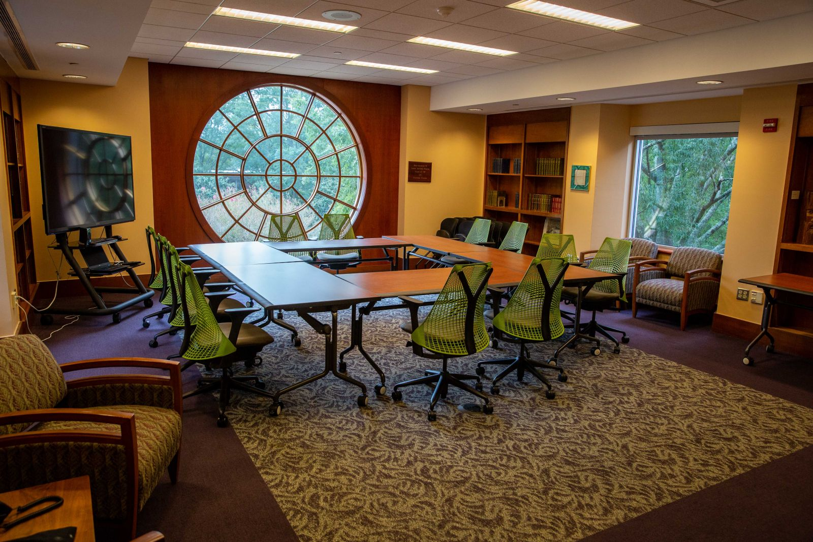 Brown Board Room - Swem Library