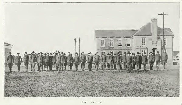 Company A, William and Mary Battalion, 1918 Colonial Echo, p. 64