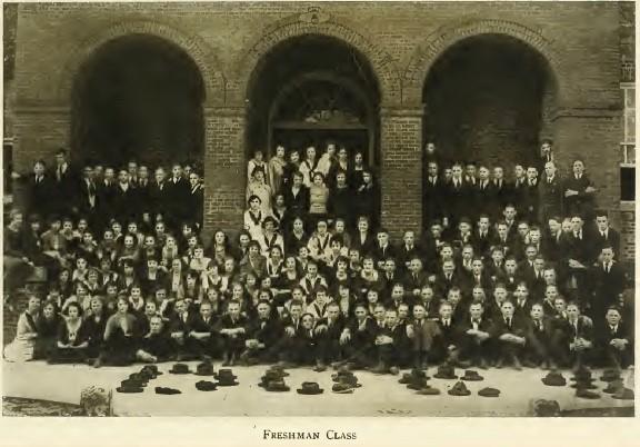 W&M 1920 freshman class, 1921 Colonial Echo, p. 117