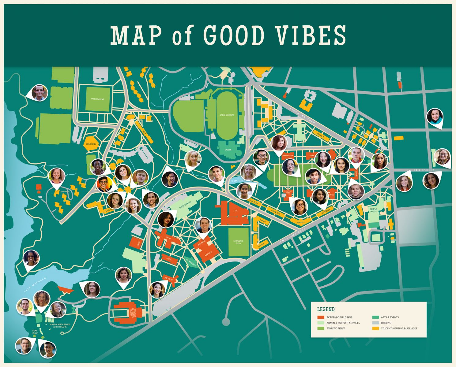 Map of Good Vibes | William & Mary Libraries