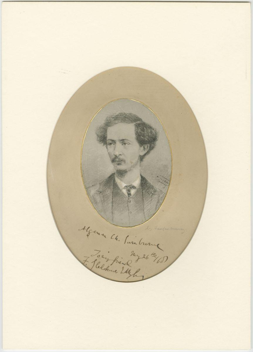 Algernon Charles Swinburne portrait