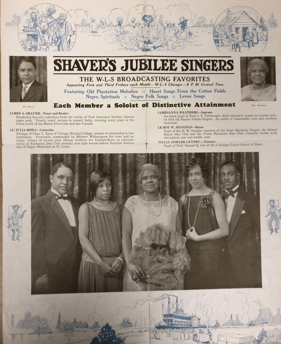 Shaver's Jubilee Singers