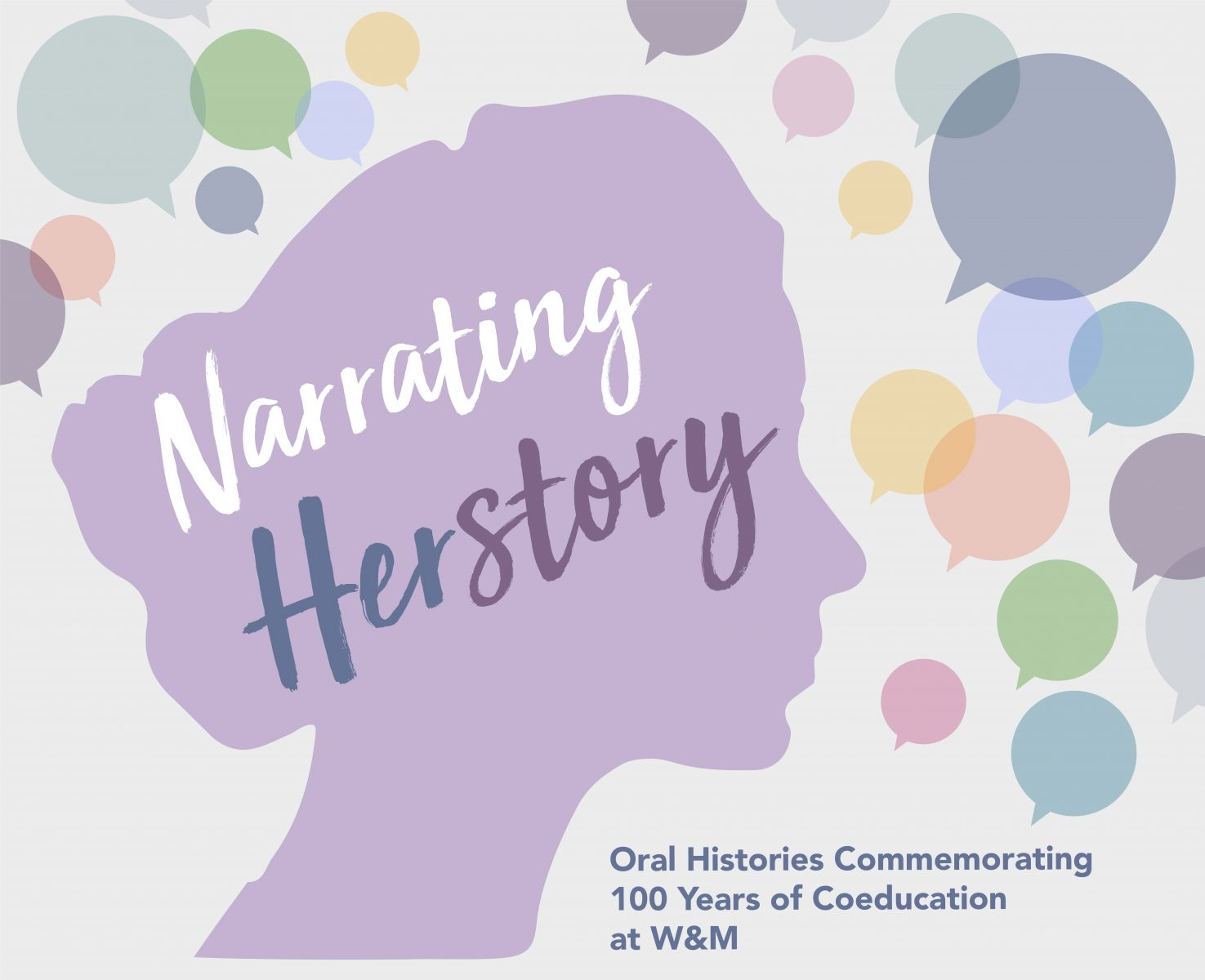 Narrating Herstory Title Graphic