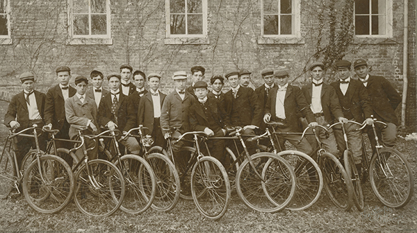 William & Mary Bicycle Club, 1899