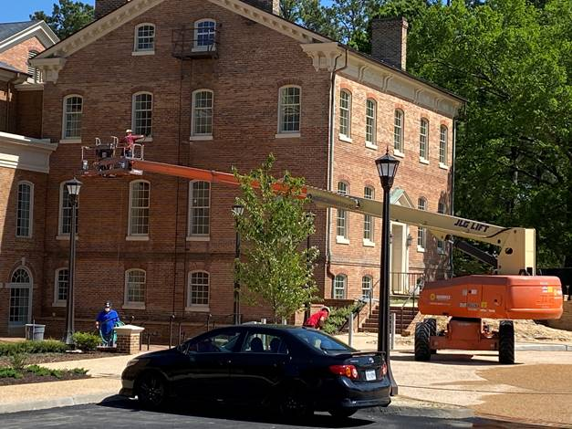Alumni House Renovation and Expansion, May 4, 2020