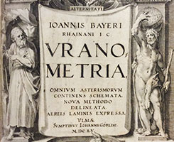 """Title page of """"Vrano Metria"""" with illustrations of Roman figures."""