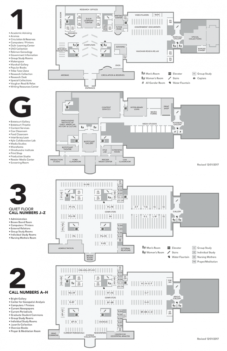 Floor plans william mary libraries for Floor plan websites