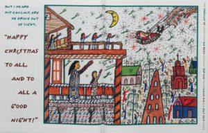 Howard Finster's illustration for the tale