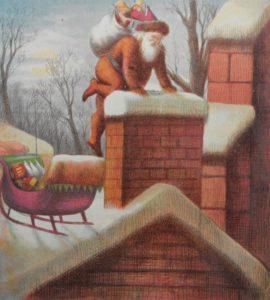 Nast's imagining of Santa Claus