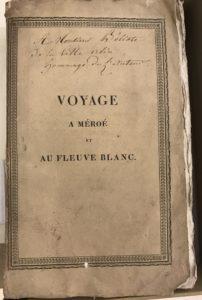 Cailliaud, Voyage a Méroé