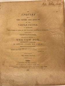 Pox Book Title Page