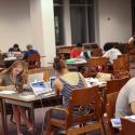 Students studying in Swem's Read and Relax