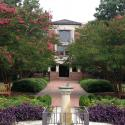 Photo of the front entrance of Swem Library, where the new Studio for Teaching & Learning Innovation will be located