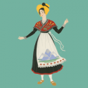 Illustration of French costume