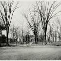 Wren Lawn from College Corner, 1915 Colonial Echo, front matter