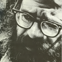 Allen Ginsberg at W&M, 1971 Colonial Echo, vol. 1, p. 95 (Photo by Bruce Nyland)