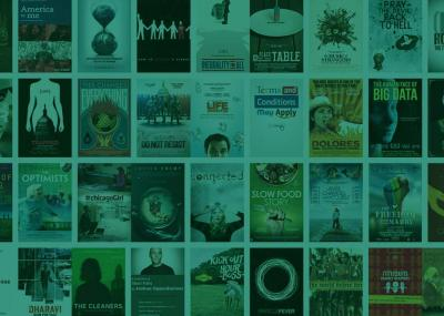 Grid of film posters for videos available to stream online