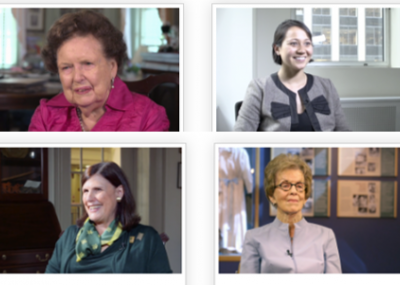 photos of women in oral histories