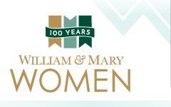 100 Years of W&M Women